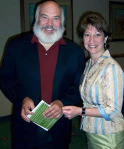 Drs. Lisa Marie Samaha and Andrew Weil