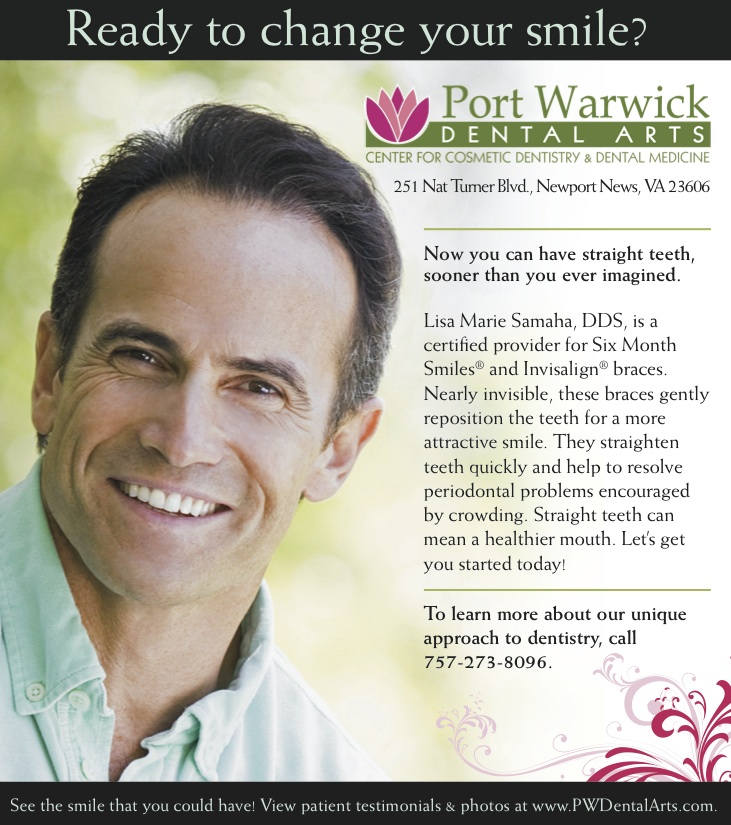 Newport News Cosmetic Dentistry - 6 Month Smiles