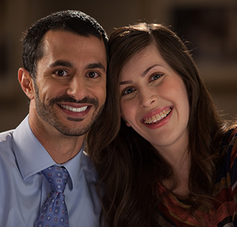 Jiji and Waseem Sheheen opted for Six Month Smiles instead of metal braces to get straight teeth in Newport News.